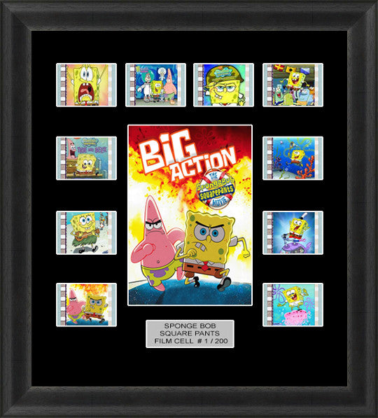 Sponge Bob Square Pants film cells