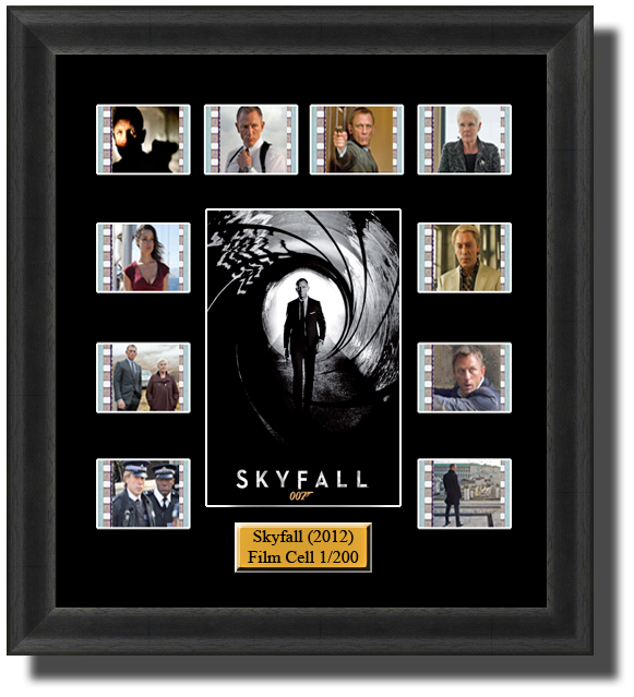 skyfall james bond film cells 2012