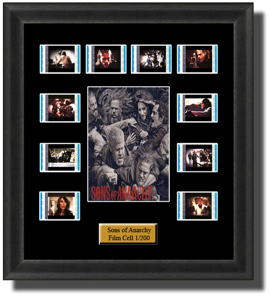 Sons Of Anarchy (2008) 35mm Film Cell Memorabilia With LED Backlight Usb Powered Soft Touch Dimmable Backlit Back Light