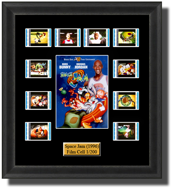 space jam looney tunes film cells
