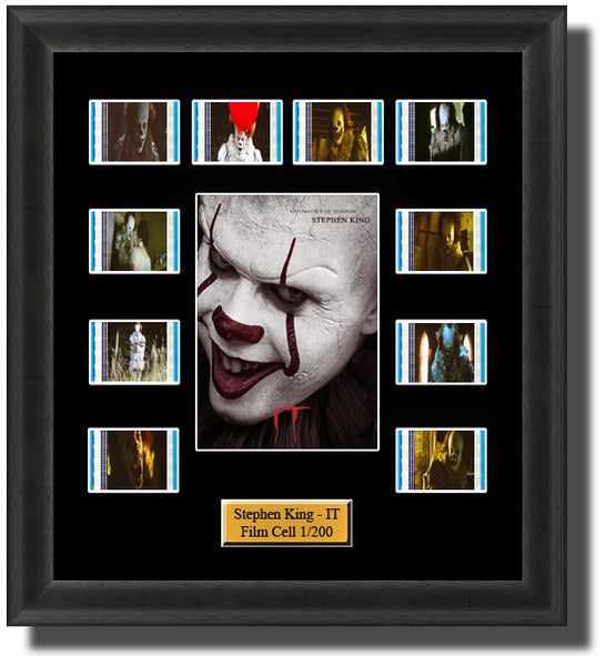 Stephen King IT 2017 Framed 35mm Movie Film Cell Memorabilia