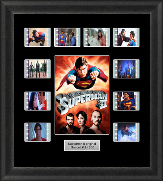 superman 2 film cells chrisopher reeves