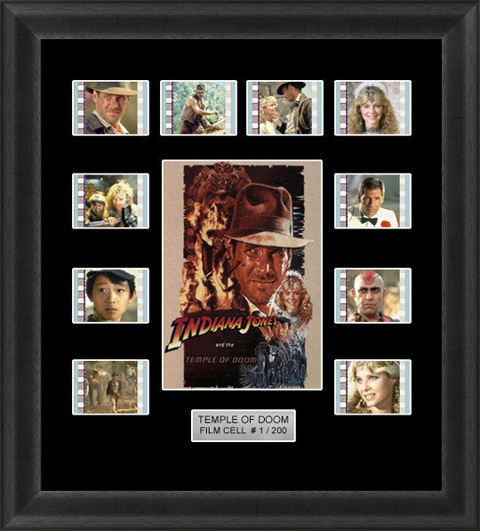 indiana jones temple of doom film cells