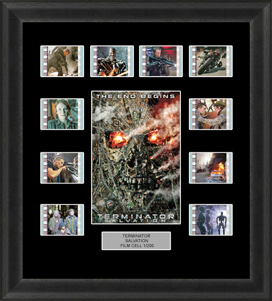 Terminator salvation  film cells Arnold Schwarzenegger