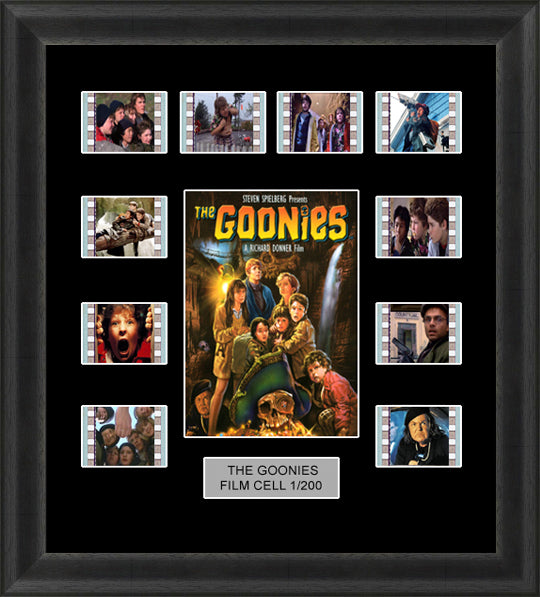 The Goonies (1985) 35mm Film Cell Memorabilia With LED Backlight Usb Powered Soft Touch Dimmable Backlit Back Light