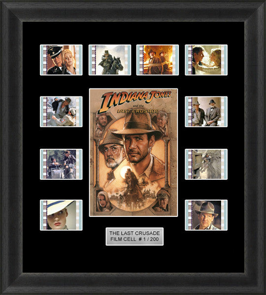 indiana jones the last crusade film cells