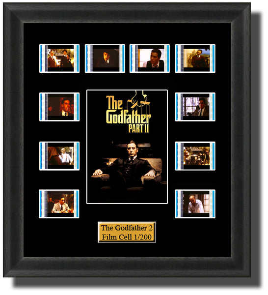 The Godfather Part 2 1974 35mm Film Cell Memorabilia With LED Backlight Usb Powered Soft Touch Dimmable Backlit Back Light