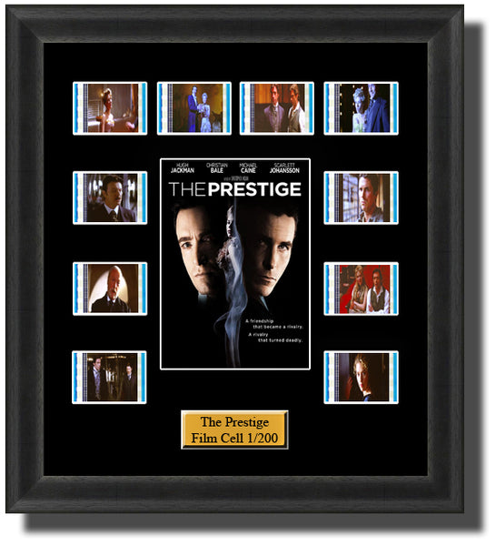 The Prestige 2006 35mm Film Cell Memorabilia With LED Backlight Usb Powered Soft Touch Dimmable Backlit Back Light