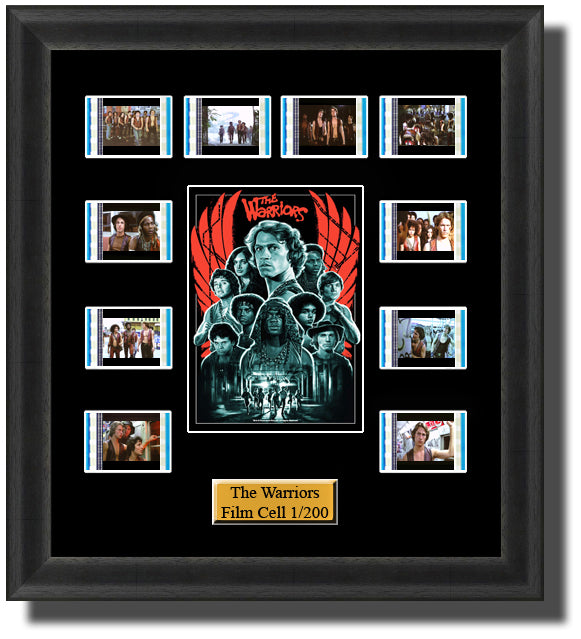 The Warriors 1979 35mm Film Cell Memorabilia With LED Backlight Usb Powered Soft Touch Dimmable