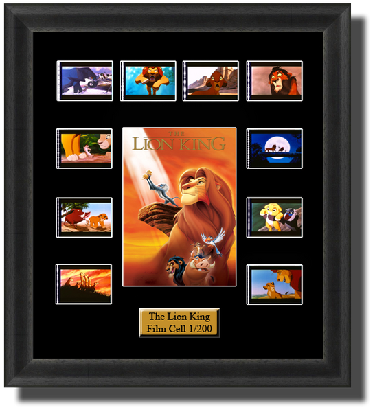 disney the lion king 1994 film cells