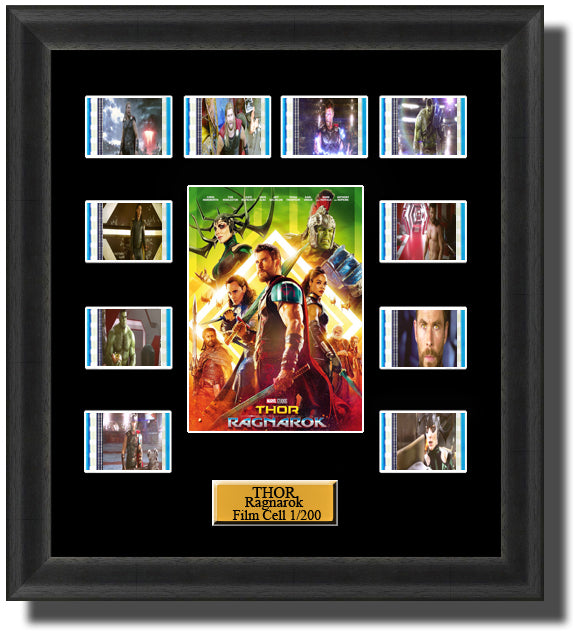 Thor Ragnarok 2017 35mm Film Cell Memorabilia With LED Backlight Usb Powered Soft Touch Dimmable Backlit Back Light