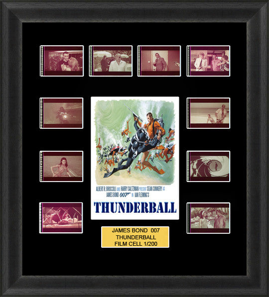 thunderball james bond film cells