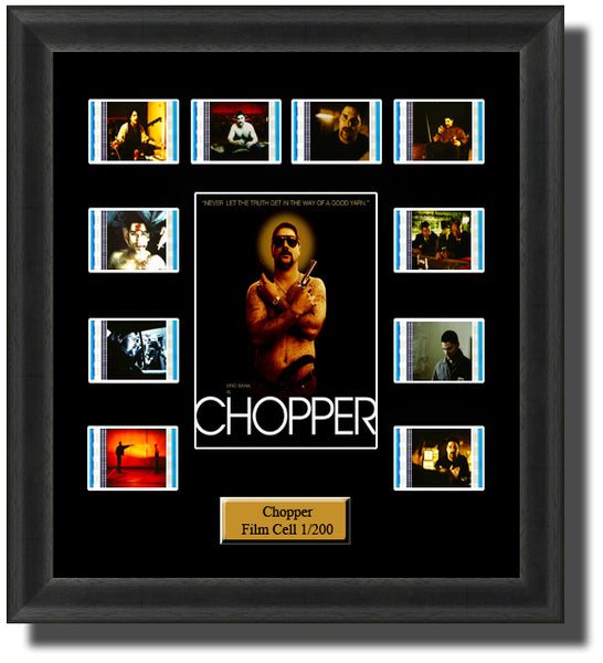 Chopper (2000) 35mm Film Cell Memorabilia With LED Backlight Usb Powered Soft Touch Dimmable Backlit Back Light