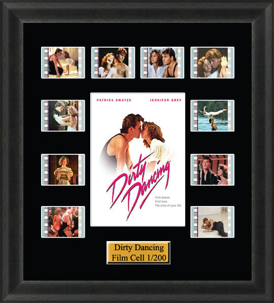 Dirty Dancing (1987) 35mm Film Cell Memorabilia With LED Backlight Usb Powered Soft Touch Dimmable Backlit Back Light