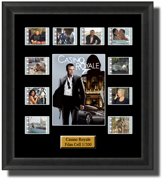 james bond casino royale film cells