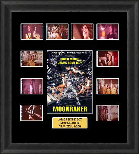 james bond moonraker film cells