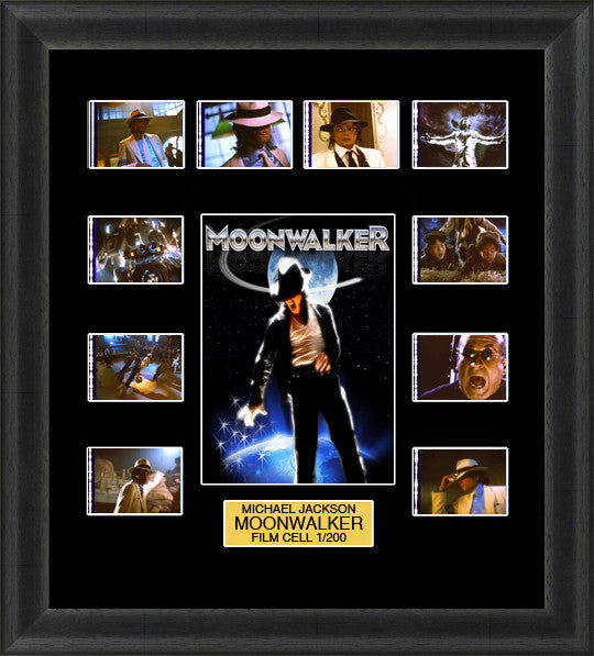 moonwalker film cells michael jackson