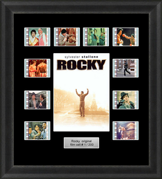 Rocky Framed Film Cells