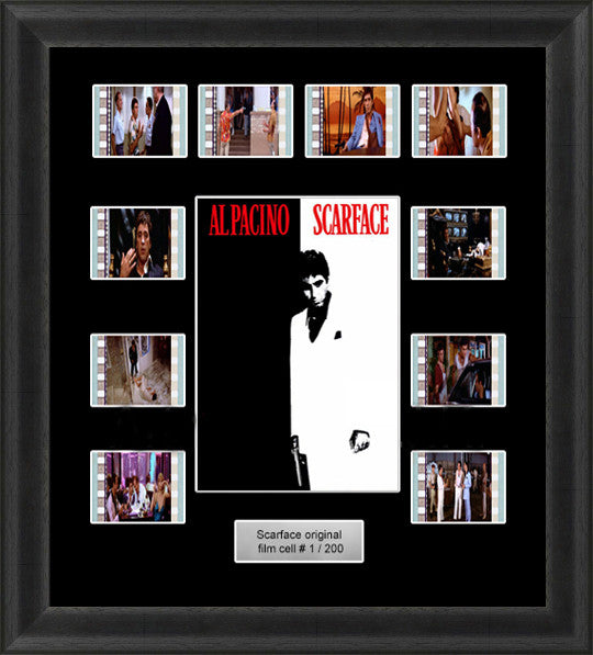 35mm film cells scarface memorabilia