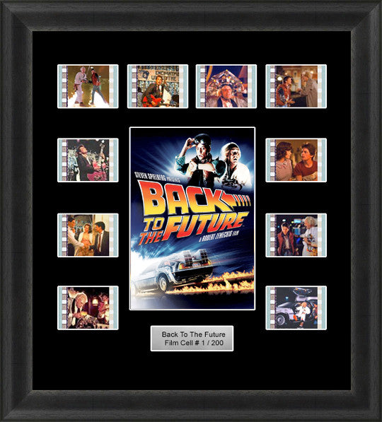 Back To The Future Framed Film Cells 35mm