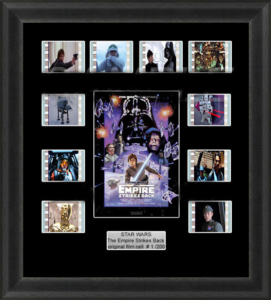 Star Wars The Empire Strikes Back Framed Film Cells 35mm