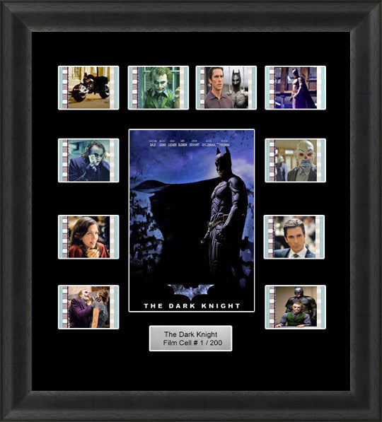 Batman The Dark Knight Framed Film Cells 35mm