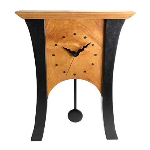 Sabbath-Day Woods Black Cherry Mantel Clock - The Barrington Garage