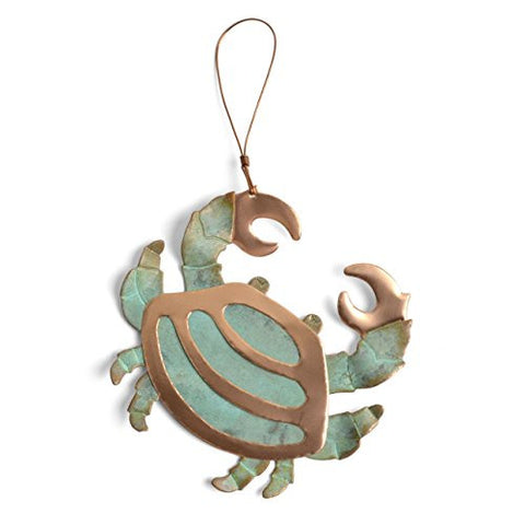 Dos Damas Designs Crab Copper Ornament - The Barrington Garage