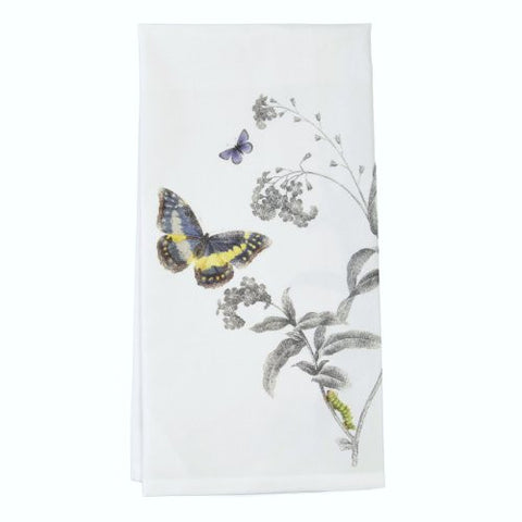 Montgomery Street Butterfly and Milkweed Flour Sack Dish Towel - The Barrington Garage