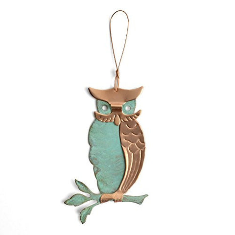 Dos Damas Designs Owl Copper Ornament - The Barrington Garage