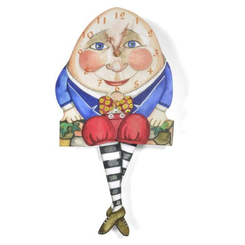 Laughing Moon Humpty Dumpty Wall Clock - The Barrington Garage