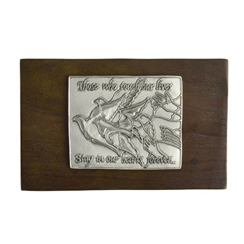 Cynthia Webb Designs Remembrance Walnut and Pewter Box - The Barrington Garage
