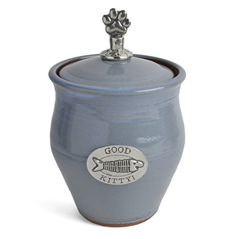 Oregon Stoneware Studio Good Kitty! Pet Treat Jar - The Barrington Garage