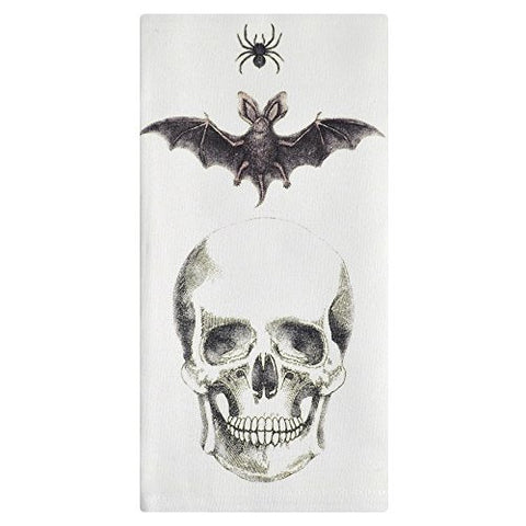 Montgomery Street Spider, Bat and Skull Cotton Napkins, Set of 4 - The Barrington Garage