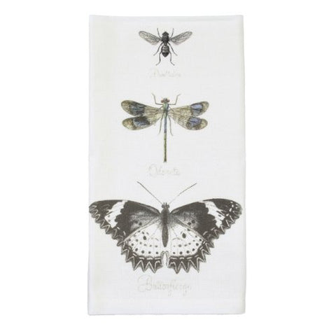 Montgomery Street Butterfly, Dragonfly and Bee Cotton Napkin, Set of 4 - The Barrington Garage