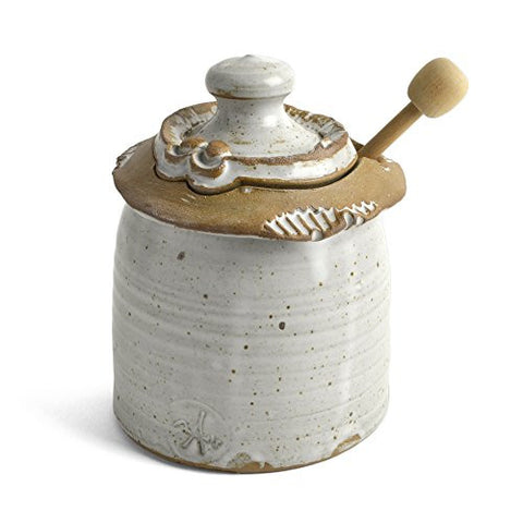 Anthony Stoneware Honey Pot - The Barrington Garage