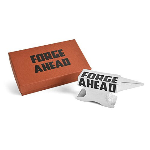 Vilmain Forge Ahead Anvil Pewter Paperweight - The Barrington Garage