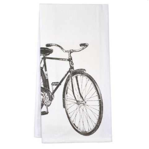 Montgomery Street Beach Cruiser Cotton Flour Sack Dish Towel - The Barrington Garage