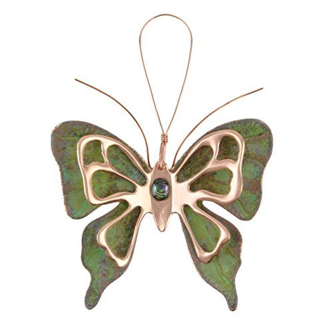 Dos Damas Designs Butterfly Copper Ornament - The Barrington Garage