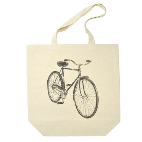 Beach Cruiser Cotton Canvas Tote Bag - The Barrington Garage