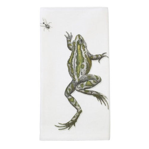 Montgomery Street Frog and Fly Cotton Napkin, Set of 4 - The Barrington Garage