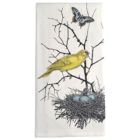 Montgomery Street Bird Nest Cotton Flour Sack Dish Towel - The Barrington Garage