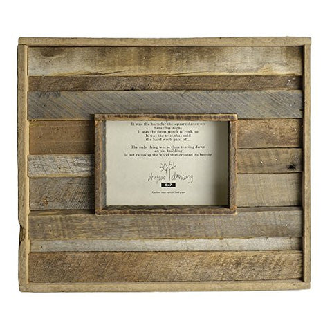 Dryads Dancing Reclaimed Barn Wood 5 x 7 Photo Frame - The Barrington Garage
