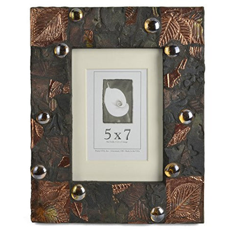 PotTerre Raku Mosaic 5 x 7 Photo Frame - The Barrington Garage