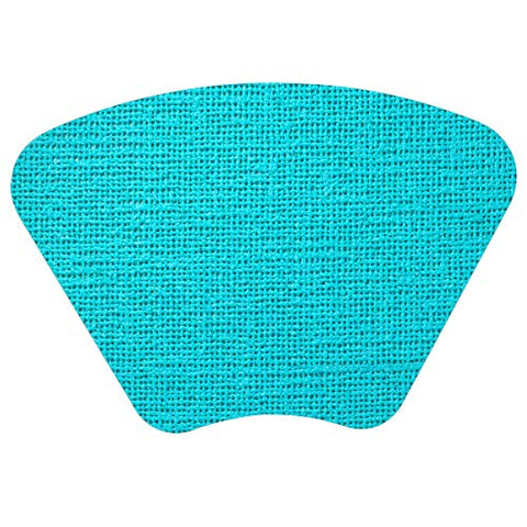 Merritt Fishnet Wedge 19 x 13 Vinyl Placemat, Set of 4