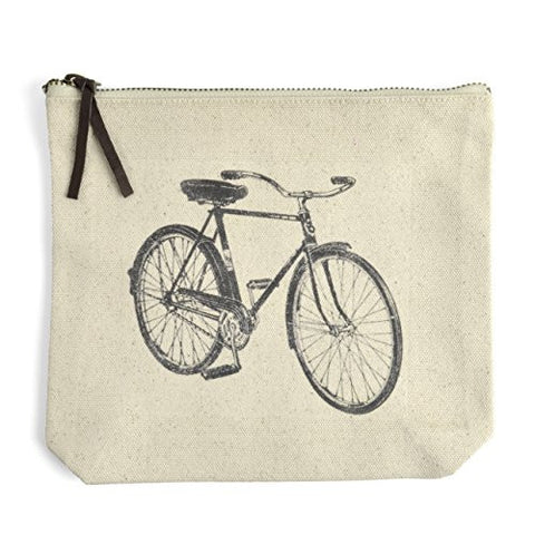 Montgomery Street Beach Cruiser Canvas Zipper Pouch - The Barrington Garage
