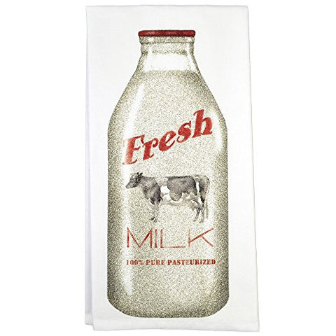 Montgomery Street Milk Bottle Cotton Flour Sack Dish Towel - The Barrington Garage