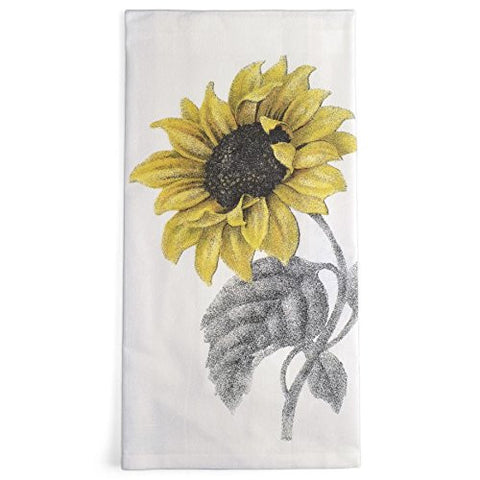 Montgomery Street Sunflower Cotton Flour Sack Dish Towel - The Barrington Garage