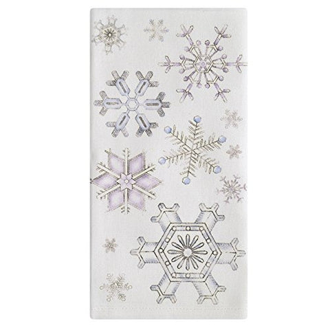Montgomery Street Snowflakes Cotton Napkins, Set of 4 - The Barrington Garage
