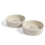 Bloomingville Josephine 4-inch Ceramic Bowls, Set of 2